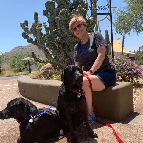 About Owner Sharon Jones | Carefree Pet Sitter